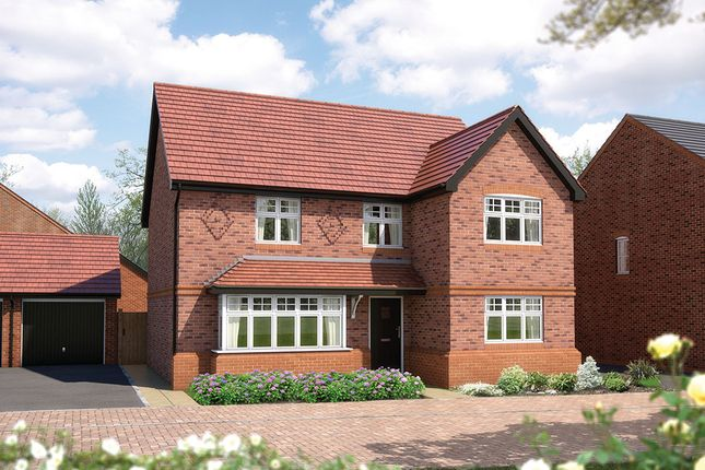 "Thumbnail Detached house for sale in ""The Chester"" at Queens Drive, Nantwich"