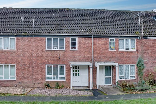 Thumbnail Terraced house for sale in Greystone Close, Church Hill South, Redditch