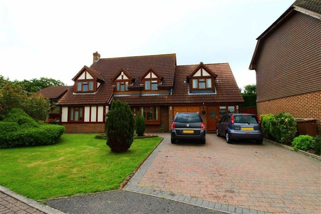 Thumbnail Detached house for sale in Johnson Close, St Leonards-On-Sea, East Sussex