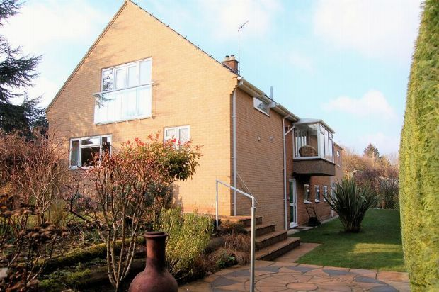 Thumbnail Detached house for sale in Manor Road, Mears Ashby, Northampton