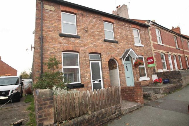 Thumbnail End terrace house to rent in Gittin Street, Oswestry