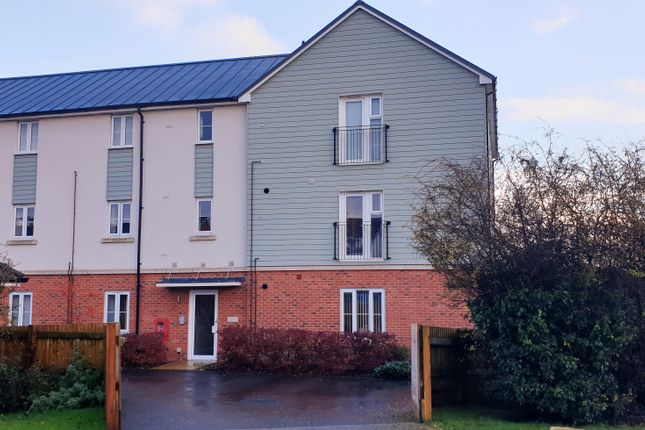 Thumbnail Flat to rent in Quicksilver Crescent, Andover Down, Andover