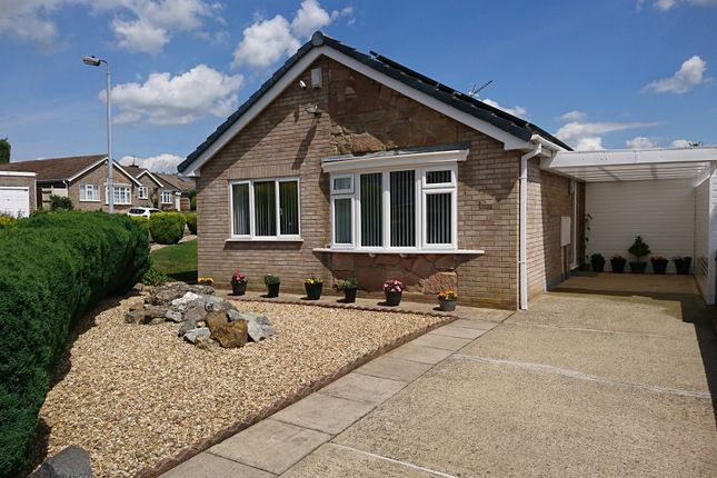 Thumbnail Detached bungalow for sale in Lichfield Close, Grantham