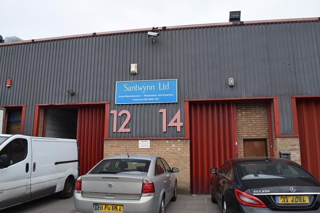 Thumbnail Light industrial to let in Unit 12-14, Peacock Industrial Estate, White Hart Lane, London