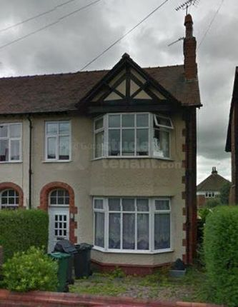 Thumbnail Shared accommodation to rent in Grange Road, Chester, Cheshire West And Chester