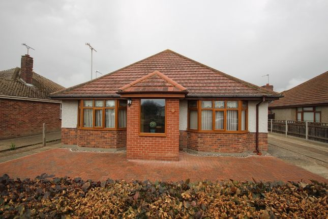 Thumbnail Detached bungalow for sale in Kingston Avenue, Caister-On-Sea, Great Yarmouth