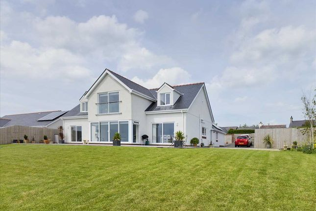 Thumbnail Detached house for sale in Gorwel, Carmel, Anglesey
