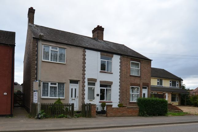 Thumbnail End terrace house to rent in East Delph, Whittlesey, Peterborough