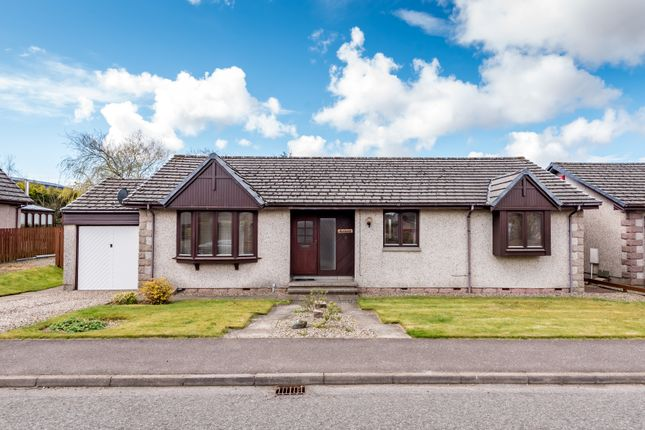 Thumbnail Detached bungalow for sale in Bractullo Gardens, Letham, Forfar