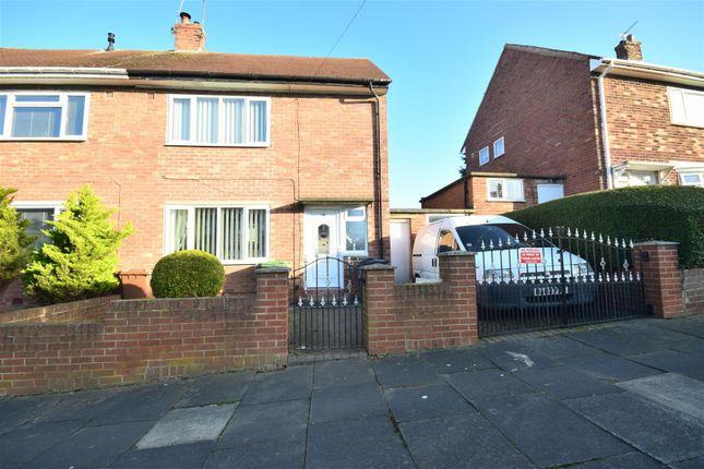 Thumbnail Semi-detached house for sale in Turnham Road, Thorney Close, Sunderland