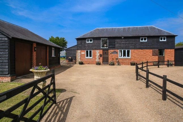 Thumbnail Barn conversion for sale in Wrotham Road, Meopham