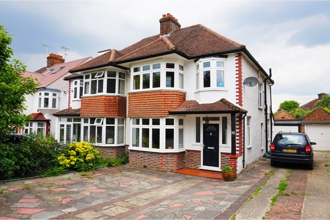 Thumbnail Semi-detached house for sale in Manor Park Road, West Wickham