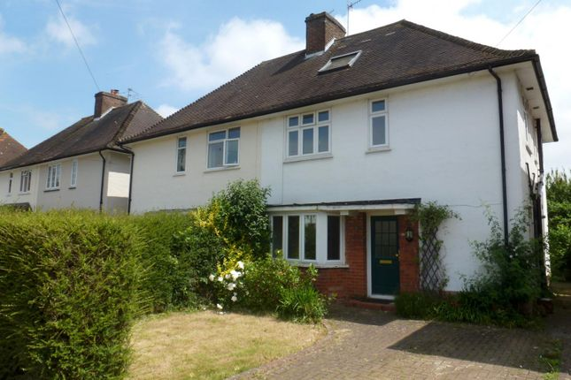 Thumbnail Property to rent in Woodbridge Hill Gardens, Guildford