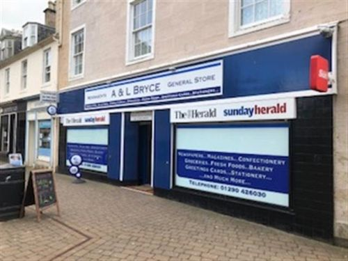 Thumbnail Retail premises for sale in Cumnock, Ayrshire