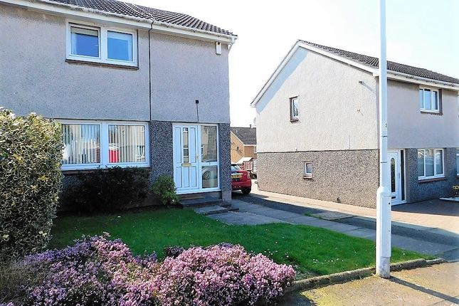 Thumbnail 2 bed semi-detached house for sale in Strathbeg Drive, Dalgety Bay, Dunfermline