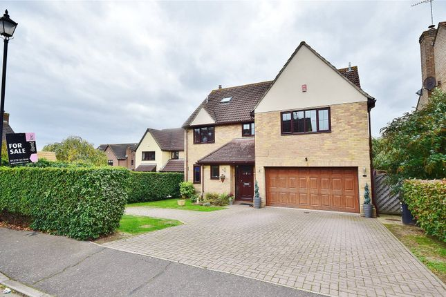 Thumbnail Detached house for sale in Wraglings, Beldams Lane, Bishop's Stortford
