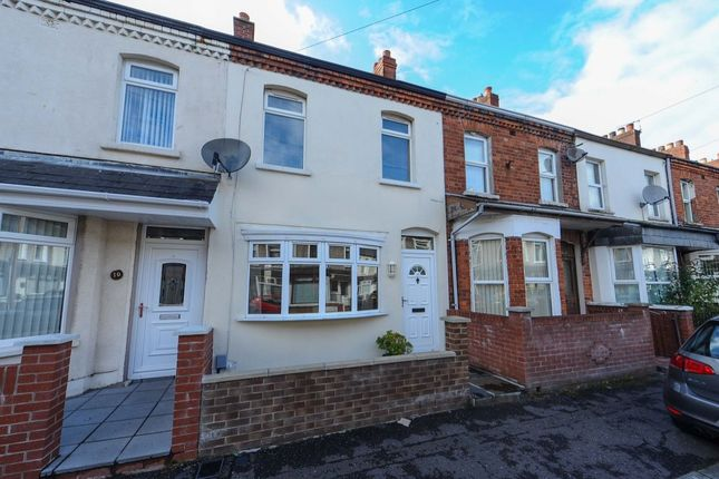 Thumbnail 2 bed terraced house for sale in Victoria Avenue, Sydenham, Belfast