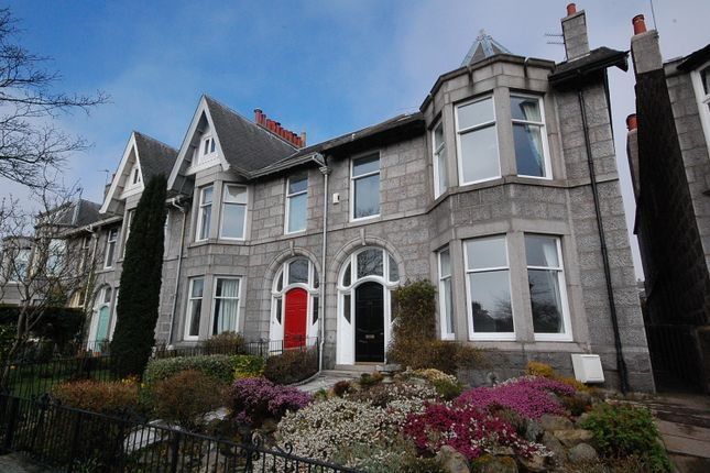 Thumbnail Semi-detached house to rent in Gladstone Place, Queens Cross, Aberdeen