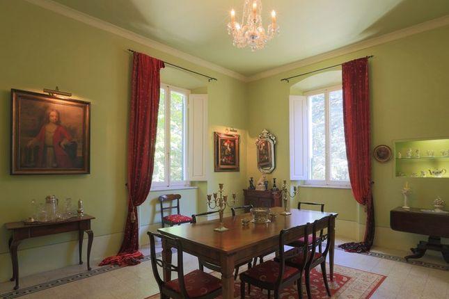 Dining Room of Villa Prosperini, Calzolaro, Citta di Castello, Umbria