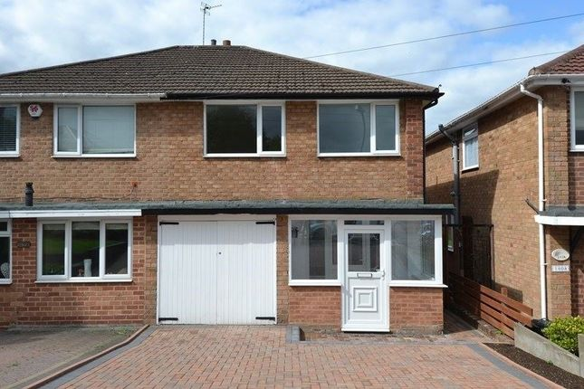 Thumbnail Semi-detached house to rent in Leach Green Lane, Rednal, Birmingham