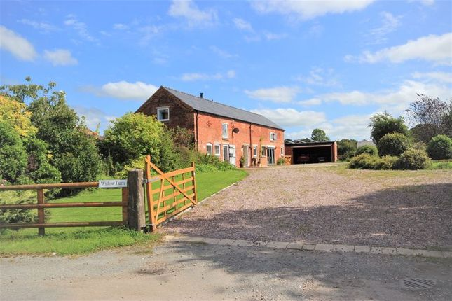 Thumbnail Barn conversion for sale in Marbury, Whitchurch