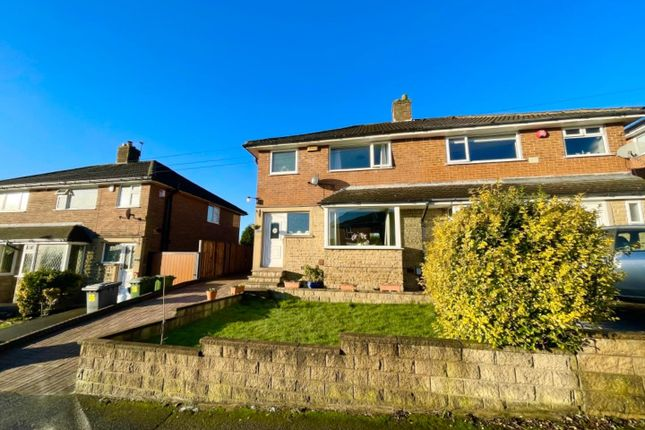Thumbnail Semi-detached house for sale in Wheatfield Avenue, Oakes, Huddersfield