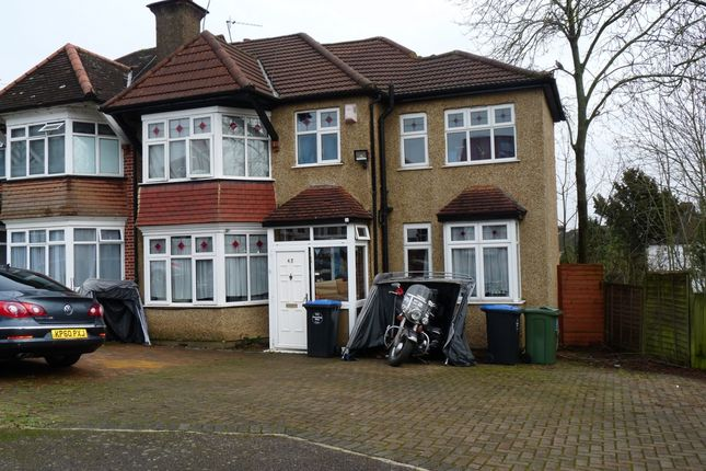 Thumbnail Semi-detached house for sale in Ambleside Gardens, Wembley