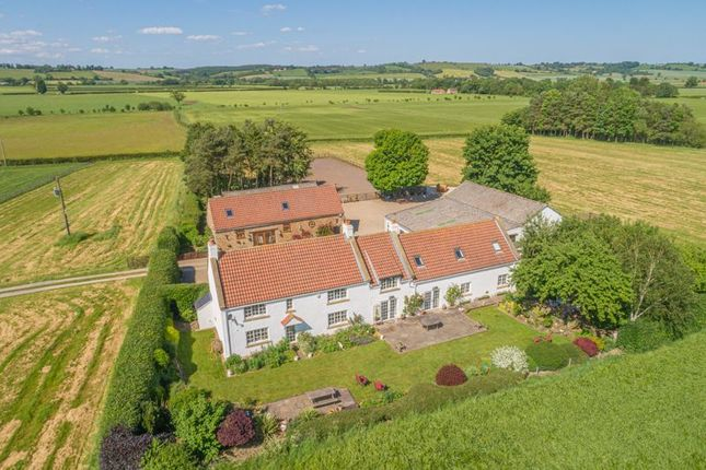 Thumbnail Detached house for sale in Dykelands Farm, Whenby, Lane, York