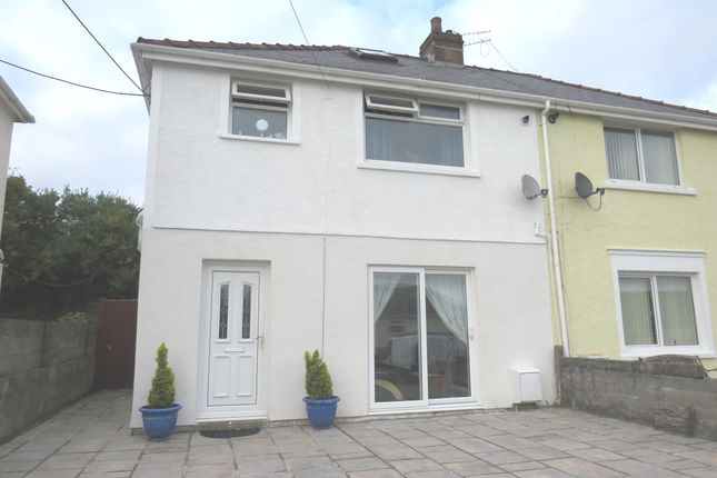 Thumbnail Semi-detached house for sale in Danygraig Terrace, Llanharan, Pontyclun