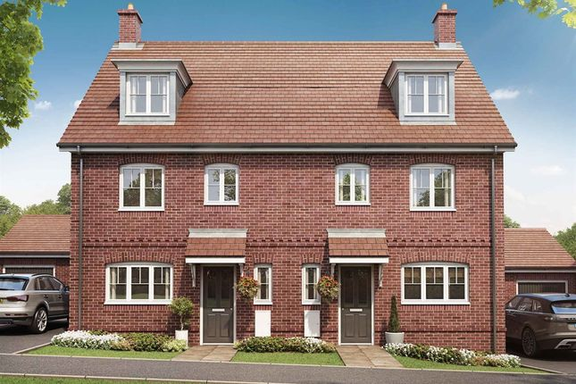 """Thumbnail Semi-detached house for sale in """"The Leicester"""" at Coldharbour Road, Northfleet, Gravesend"""