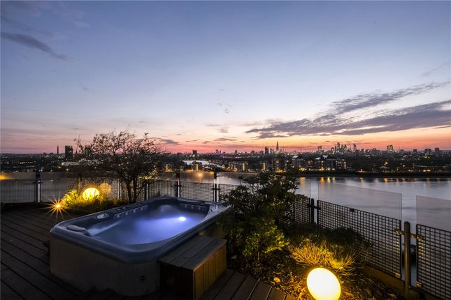 Thumbnail Flat for sale in New Atlas Wharf, 3 Arnhem Place, London