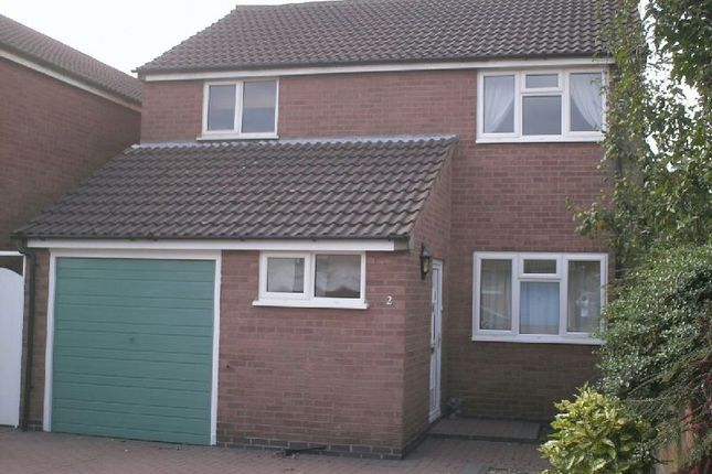 Thumbnail Detached house to rent in Barbara Close, Enderby, Leicester