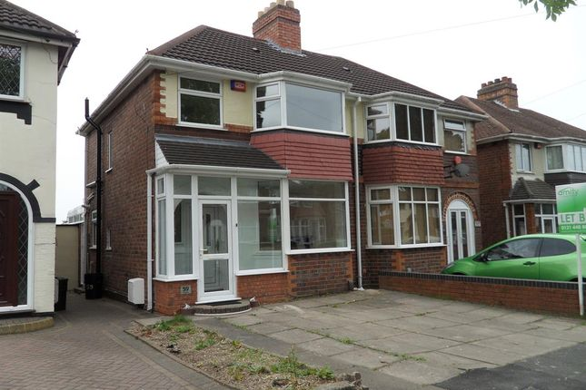 Thumbnail Semi-detached house to rent in Duxford Road, Great Barr, Birmingham
