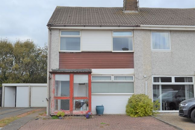 Thumbnail Semi-detached house for sale in 20 Barony Court, Ardrossan
