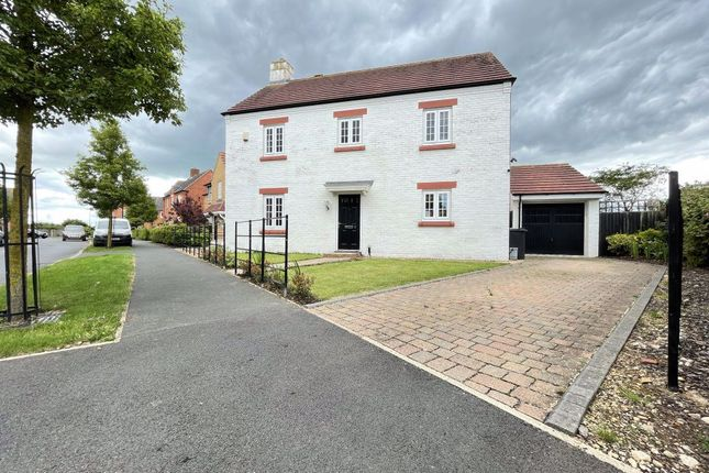 Thumbnail Detached house to rent in Charlotte Way, Netherton, Peterborough