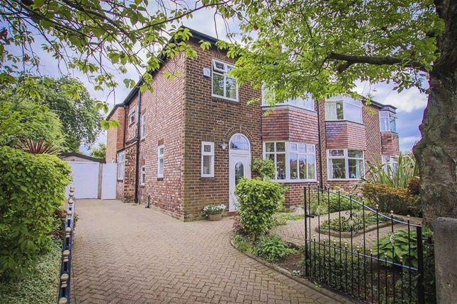 Thumbnail Semi-detached house for sale in Woodfield Road, Salford
