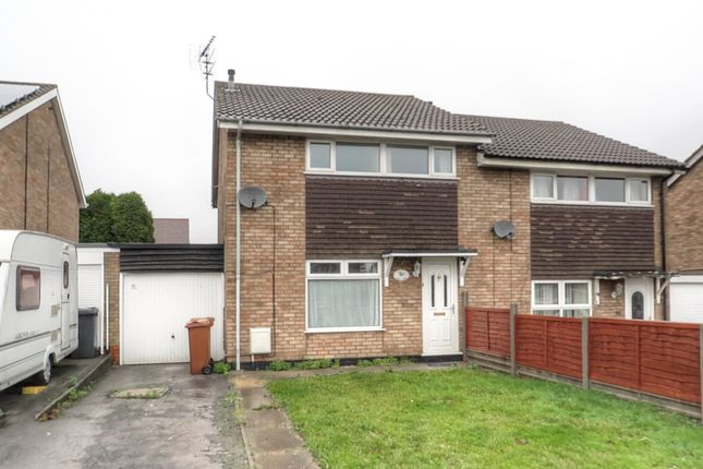 Thumbnail Semi-detached house to rent in St. Bernard Close, Broughton, Brigg