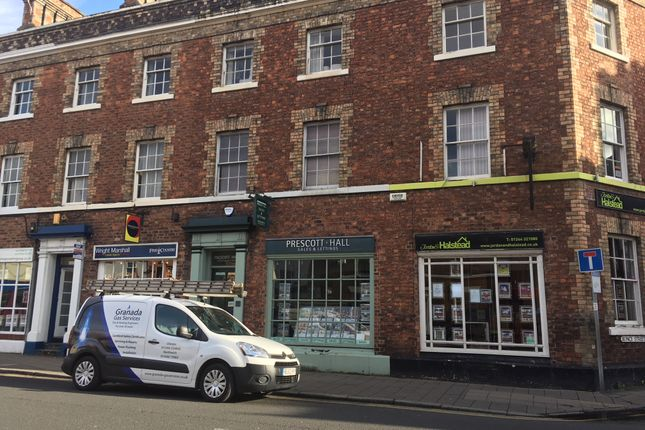 Retail premises to let in Grosvenor Street, Chester