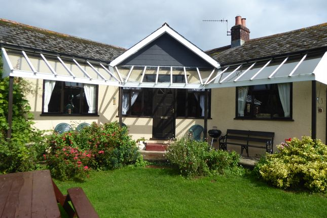 Thumbnail Detached bungalow to rent in Hensbury Lane, Bere Ferrers, Near Yelverton, Devon