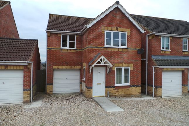 Thumbnail Detached house to rent in Juniper Way, Gainsborough, Lincs