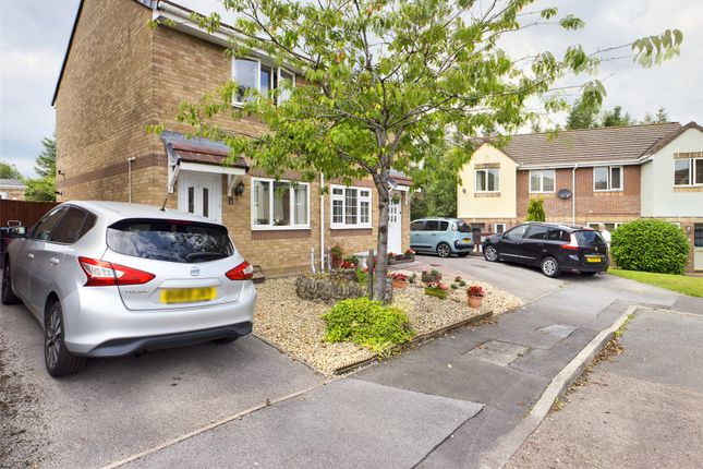 Thumbnail Semi-detached house for sale in Shoemaker Close, Brynmawr, Gwent