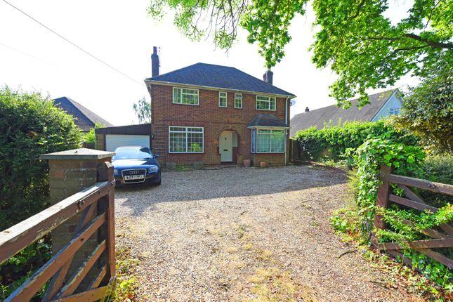 Thumbnail Detached house to rent in Robin Hood Lane, Winnersh, Wokingham