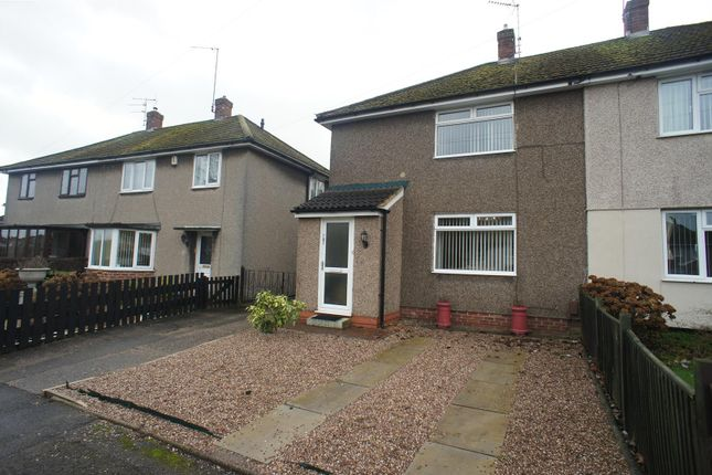 Thumbnail Semi-detached house to rent in Wood Road, Chaddesden, Derby