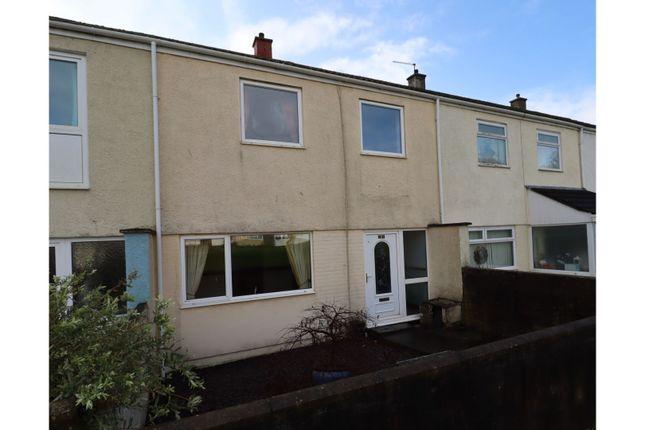 3 bed terraced house for sale in Bro Myrddin, Carmarthen SA31