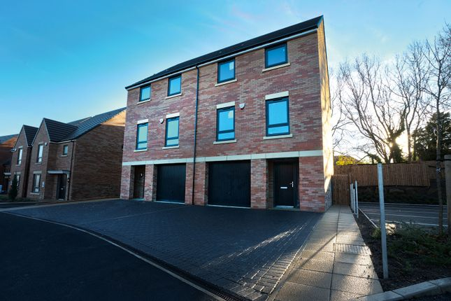 "Thumbnail Town house for sale in ""The Meldon"" at Loansdean, Morpeth"