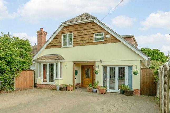 Thumbnail Detached house for sale in Wimborne Road West, Wimborne, Dorset