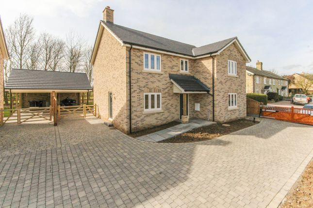 Thumbnail Detached house for sale in Kirtling Road, Saxon Street, Newmarket