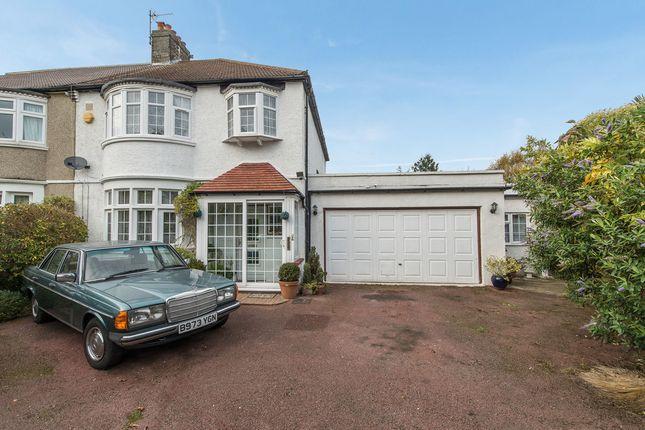 Thumbnail Semi-detached house for sale in Kenley Road, Merton Park