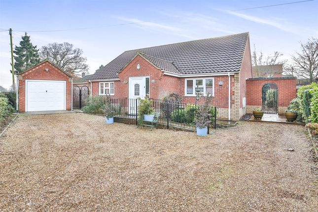 Thumbnail Detached bungalow for sale in Stone Road, Toftwood, Dereham