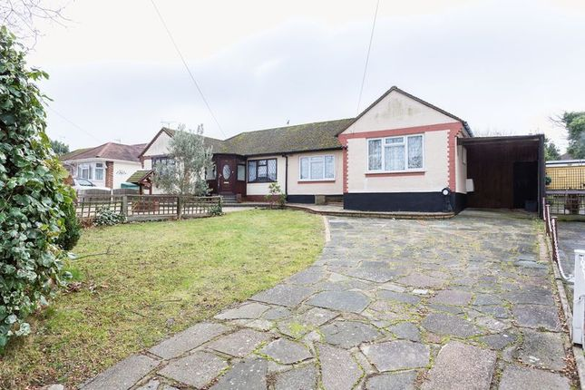 Thumbnail Semi-detached bungalow for sale in Park View Court, Walters Close, Eastwood, Leigh-On-Sea